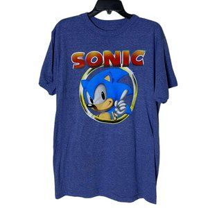 NEW Sonic The Hedgehog  Graphic T-Shirt Large